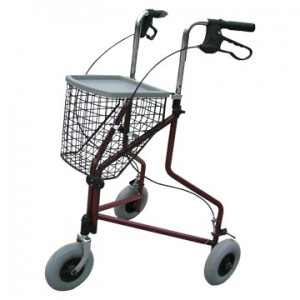 3 Wheel Walker with basket