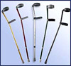 Alliminium Crutches